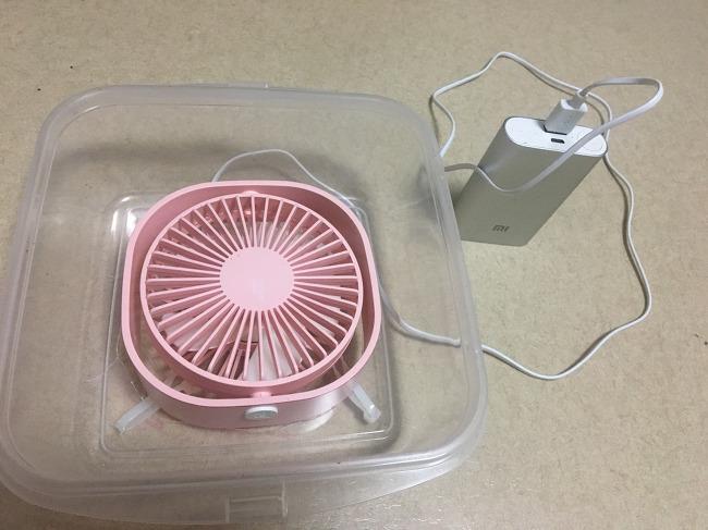 유모차용 공기청정기(강제환기용) diy