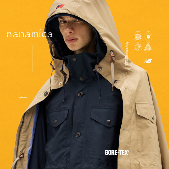 NANAMICA X NEW BALANCE