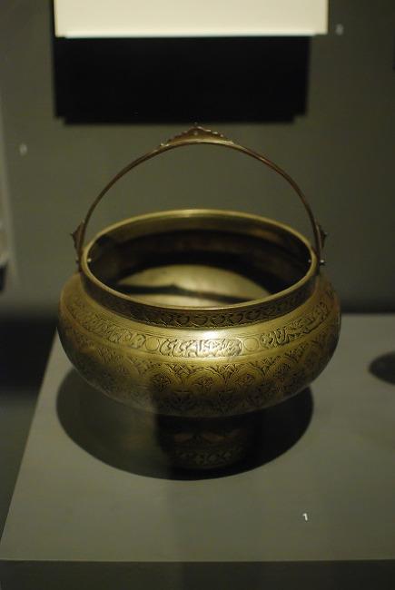 이슬람의 보물 - 욕실, 주자, 촛대, 향로 & 화로