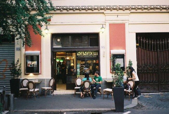 [이탈리아 커피기행, 로마] 샤샤 1919 Sciascia Caffe 1919, 타짜도로 La Casa del Caffe Tazza d'oro