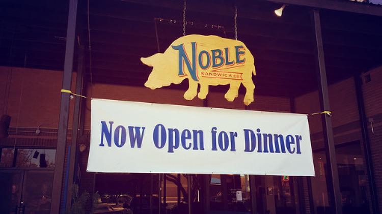 피클이 인상적인 오스틴의 노블샌드위치(Noble Sandwich Co)