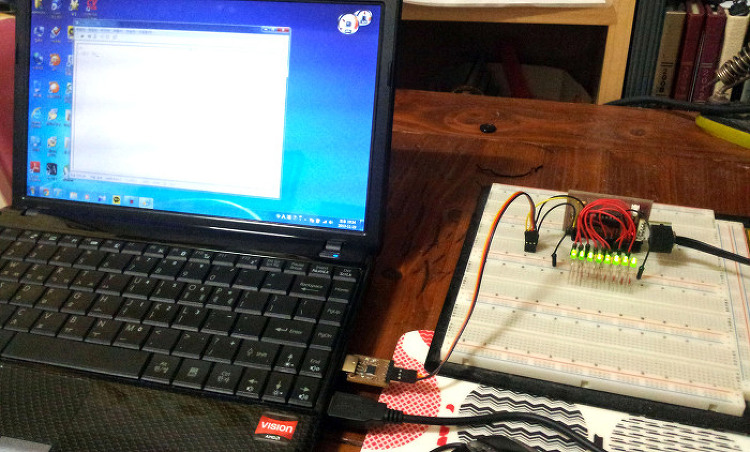 AVR UART 비동기 통신 사용자 함수 문자열 비..