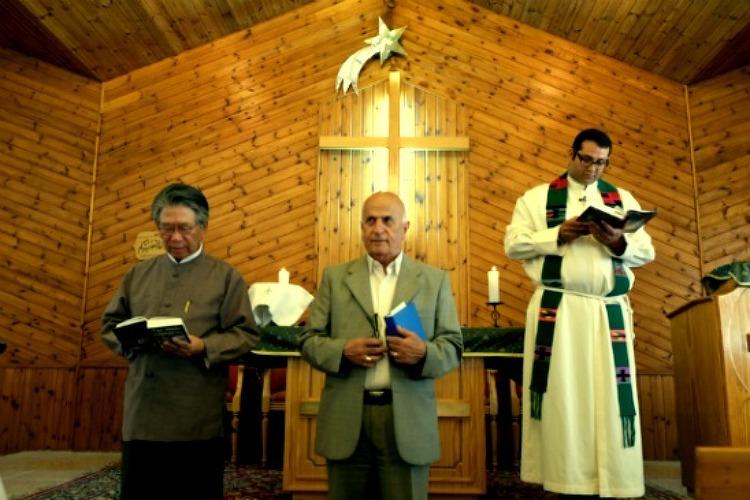 2013 대안성지순례 단체방문 - Lutheran church