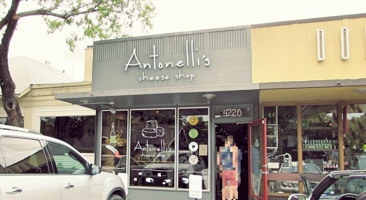 """""""안토넬리의 치즈가게""""(Antonelli's Cheese shop) -오스틴"""