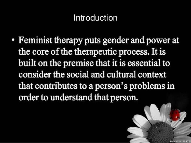 여성주의 상담 (feminism therapy) 필독서
