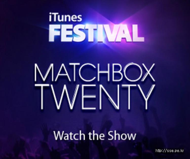 Matchbox Twenty @ iTunes Festival 2012