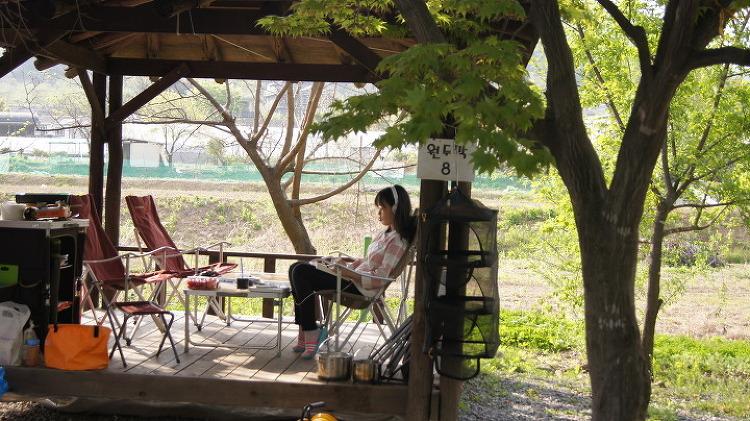 4월의 토마토 캠핑장