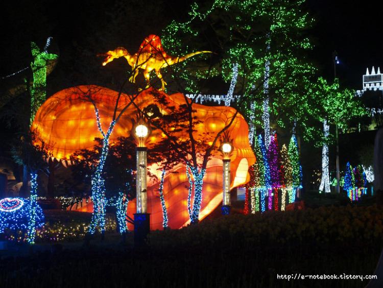 [2016고성공룡세계엑스포 야간개장] 당신의 낮보다 아름다운 공룡의 밤.
