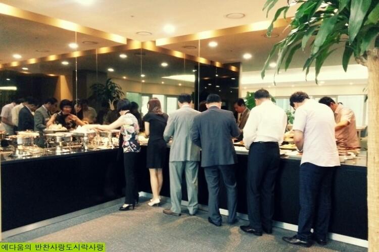 단체(기관)의 저녁 모임을 위한 친환경 예다움 출장부페