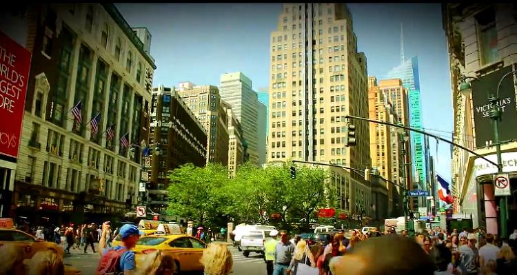 뉴욕 거리를 걷는 기분은 어떨까요?