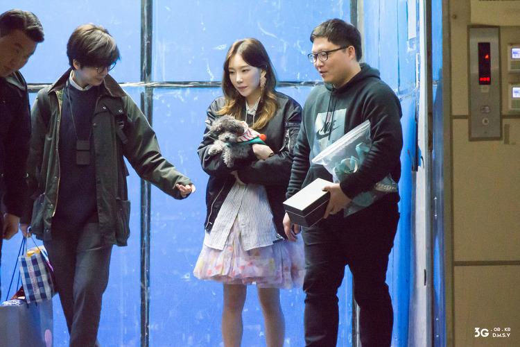 180309 TAEYEON BIRTHDAY PARTY 퇴근길 - 소녀시대 태연