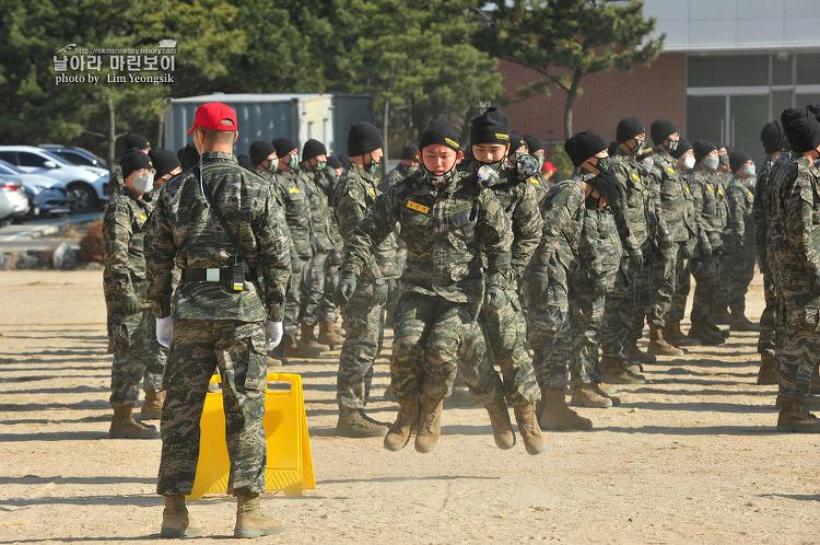 신병 1242기 3교육대 2주차 - 전투체력