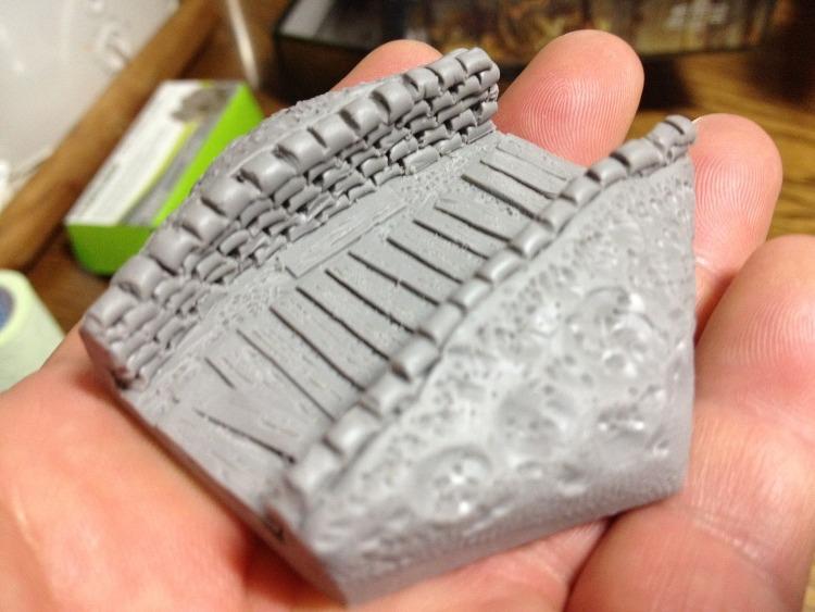 Making Trench Miniature (참호 미니어처 만들기)