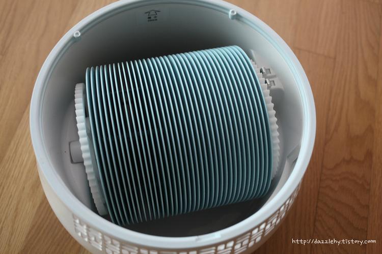 LG 퓨리케어 에어워셔 (HW300BBN) 필터청소..