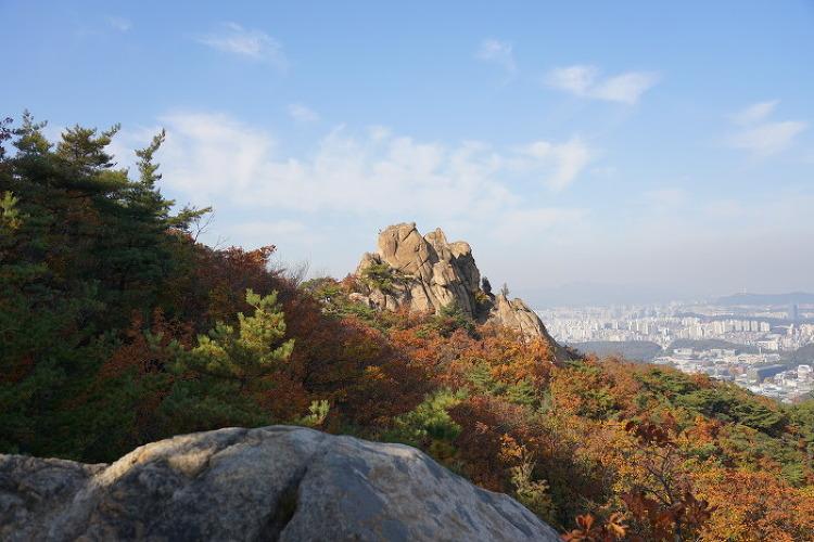 [일요산행] 삼성산 181021