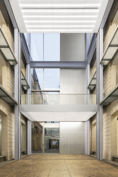 *파리 르마레 위치한 문화공간 리모델링  [ OMA ] Fondation Galeries Lafayette