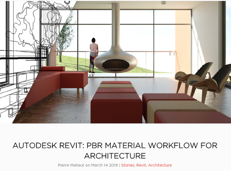 AUTODESK REVIT: PBR MATERIAL WORKFLOW FOR ARCHITECTURE