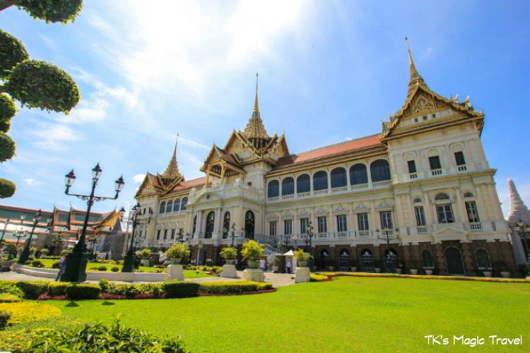 방콕 관광 (왕궁, 왓아룬(새벽사원), 왓포)