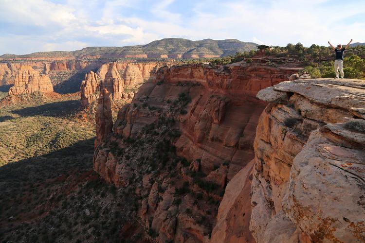 """""""붉은색 절벽은 유타에만 있는게 아니다!"""" 콜로라도 내셔널모뉴먼트(Colorado National Monument)"""