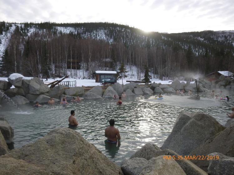 3월 [알래스카 오로라 여행] 치나 핫 스프링스 - Chena Hot Springs [페어뱅크스 패키지 맞춤 선택 자유 힐링 허니문 신혼 여행 현지 관광 투어 가이드]