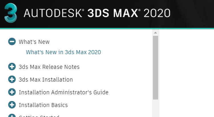 3DS Max 2020 new features revealed