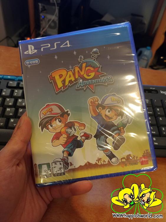 [게임][PS4] 팡 어드벤처스 (PANG ADVENTURES)