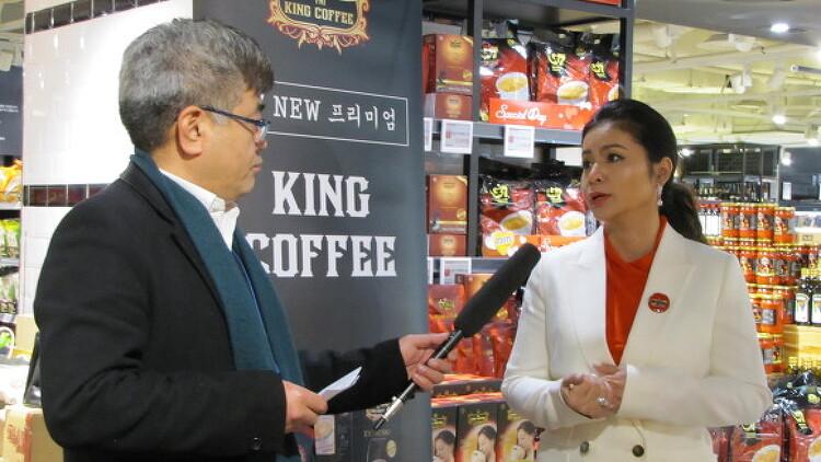 [포토기사] 킹커피,글로벌CEO Madam Thao..