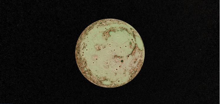 지구 지도가 아니라 달과 화성의 지도를 볼 수 있다고요?