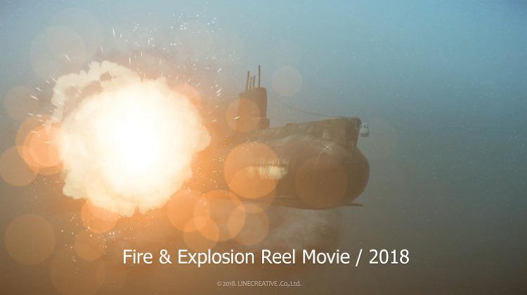 Fire & Explosion Reel Movie / 2018