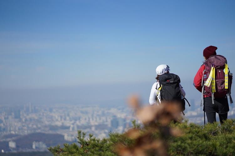 [일요산행] 관악산 학바위 능선 181104