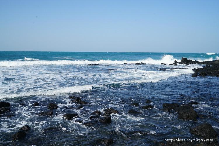 제주도 애월 해안도로 산책로 바다풍경과 간단..
