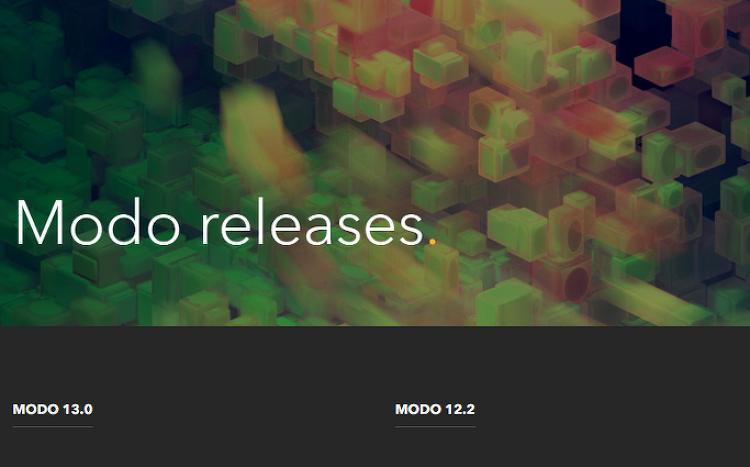 Modo 13 released