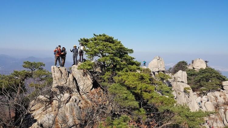 [토요산행] 도봉산 다락능선 181103