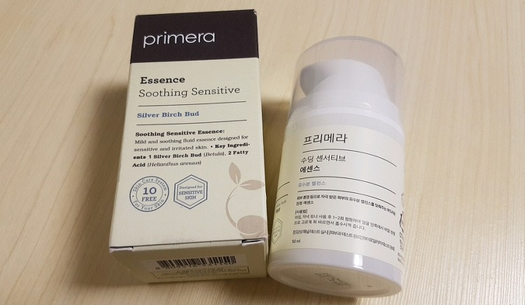 임산부 기초 화장품 프리메라 수딩 센서티브 에..