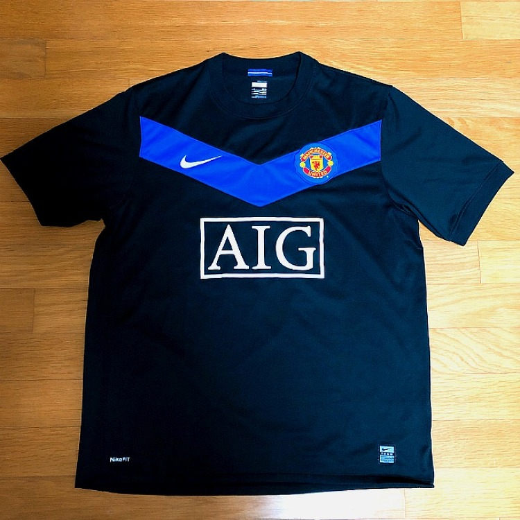 09-10 Manchester United Away Jersey (RO..