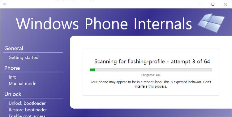 루미아 950XL에 윈도우 10 데스크톱(Windows 10 for ARM) 설치하기