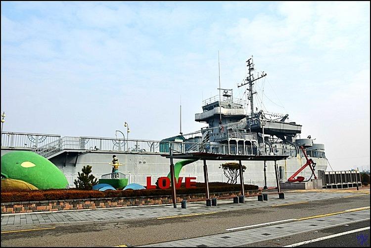 ( 군산 여행 ) 근대항 스탬프 투어 마지막 진포해양테마공원,위봉함