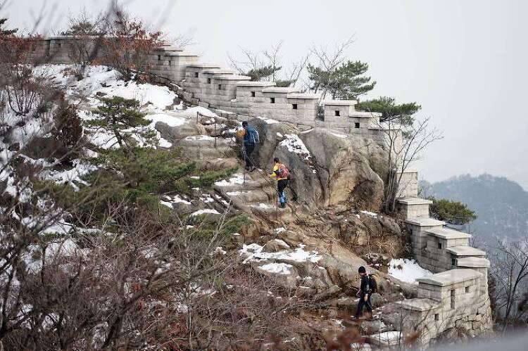 [일요산행] 북한산 의상능선 181125