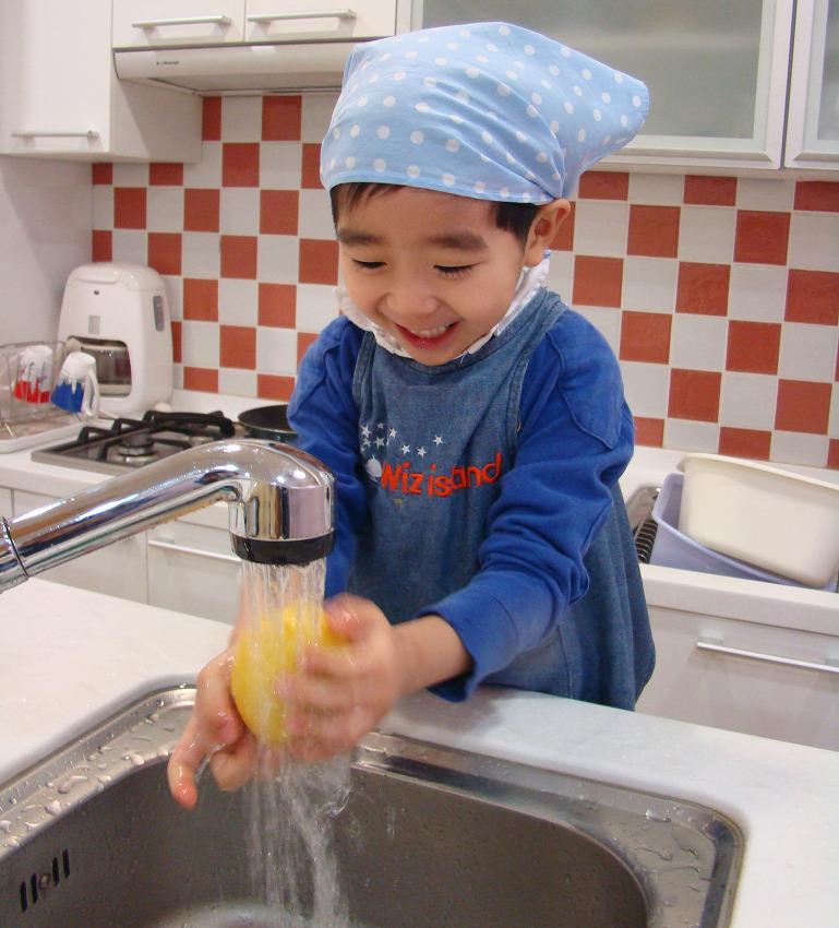 종서의 레몬주스 만들기(090112)