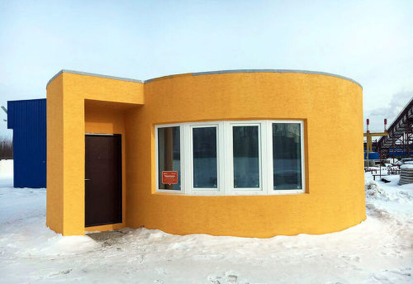 3D 프린터로 하루만에 집 짓기 (Apis Cor)
