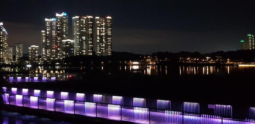 광교 호수공원(힐스테이트 광교, 중흥S클래스, 광교아이파크, 광교더샵주상복합) 야경