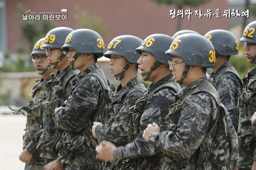 신병 1238기 3교육대 2주차 - 총검술 훈련