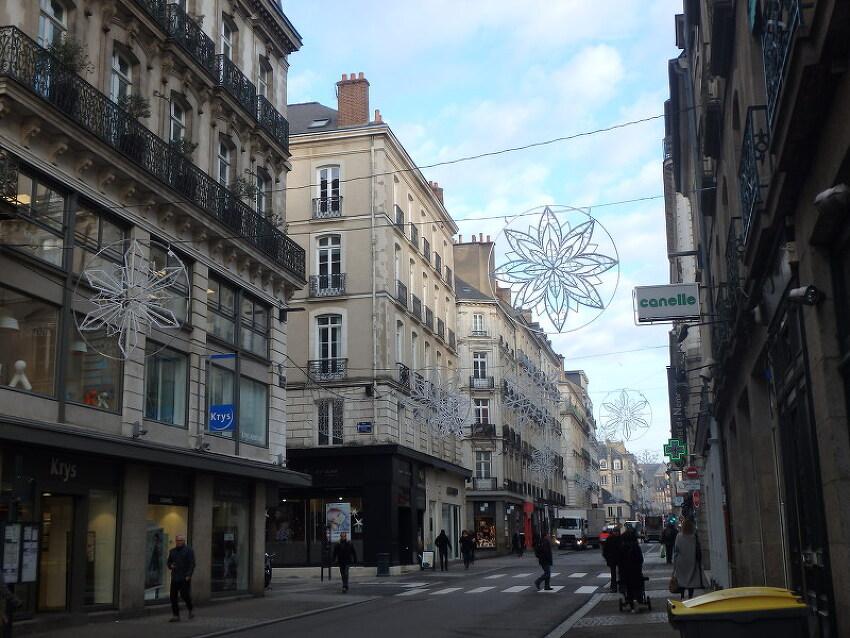 크리스마스 거리장식불1 (France, Rennes, 20..