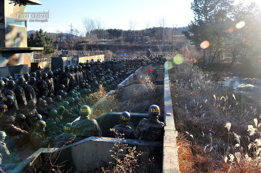 신병 1241기 1교육대 3주차 - 수류탄 투척훈련