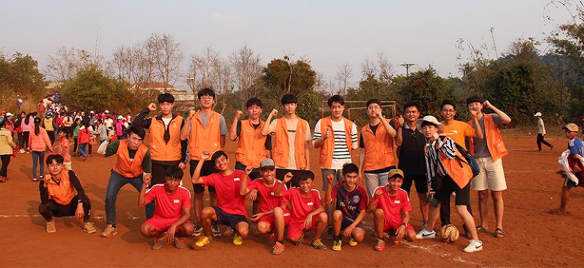 한화해피프렌즈 청소년 봉사단이 베트남에서 펼친 따뜻한 나눔의 시간