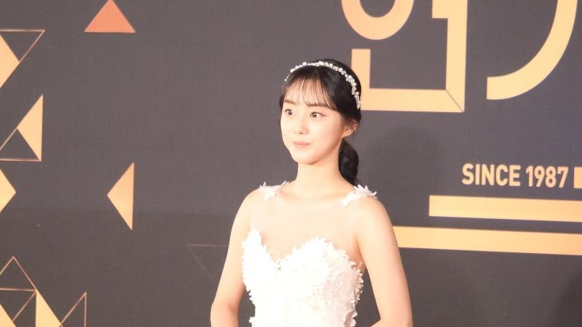 181231 KBS 연기대상 레드카펫 박세완 4K 직..