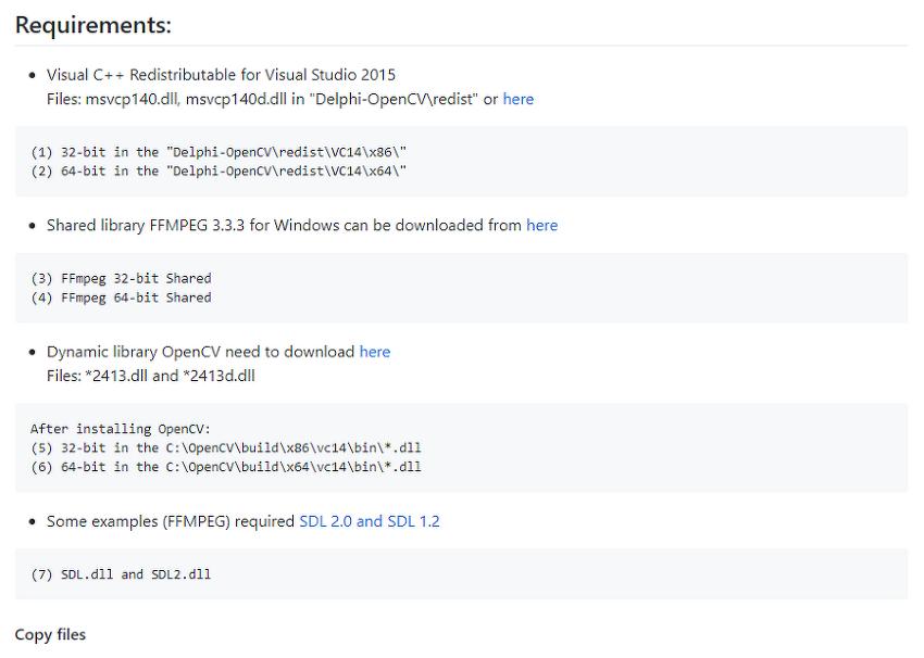 [Delphi] Install OpenCV in Delphi 10.2 Toky..
