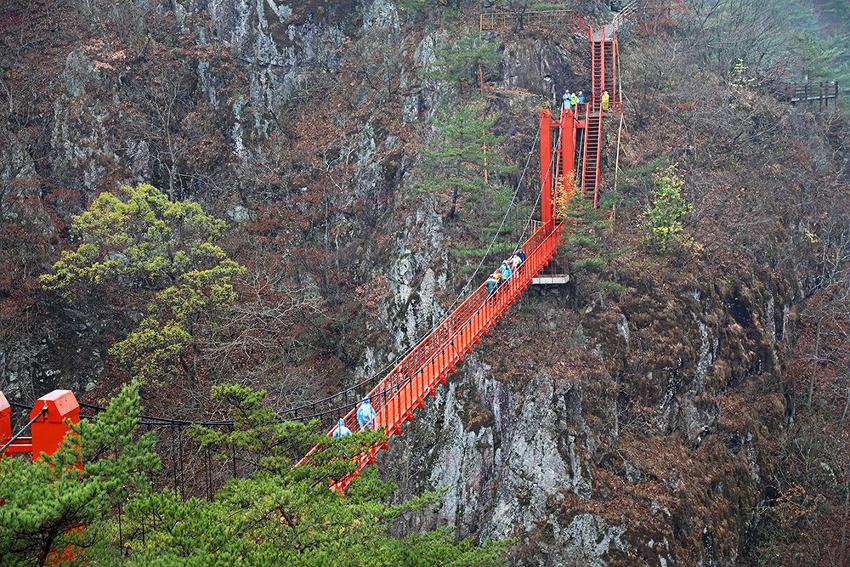 비가 내려도 좋기만 했던 강천산 군립공원!! (순창여행)