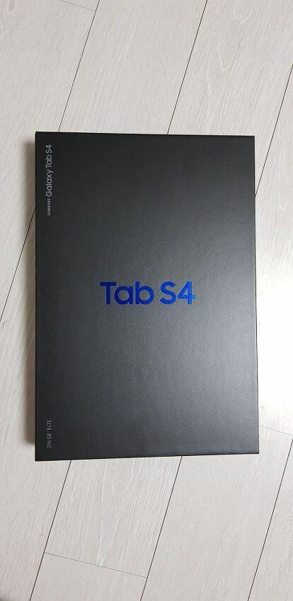 갤럭시 탭S4 개봉기 (Tab S4)