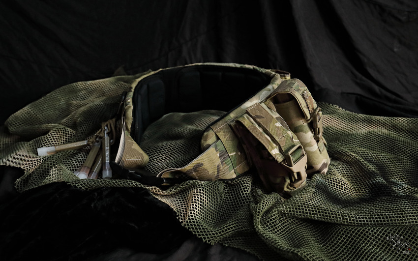 [Tactical belt] Crye Precision LOW PROFILE BELT setup.